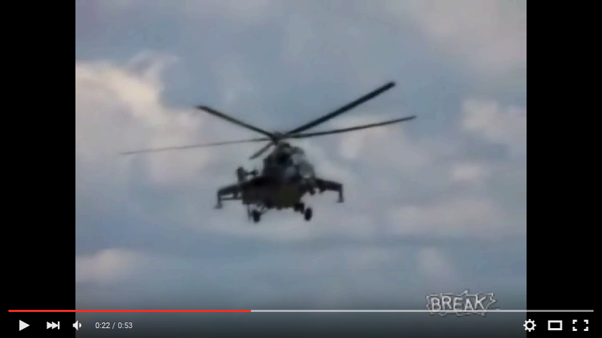 youtube screenshot helicopter aliasing