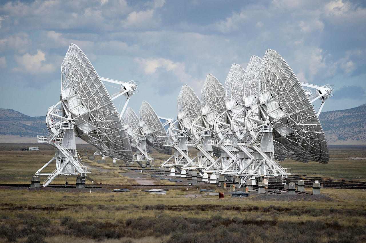 the very large array telescope