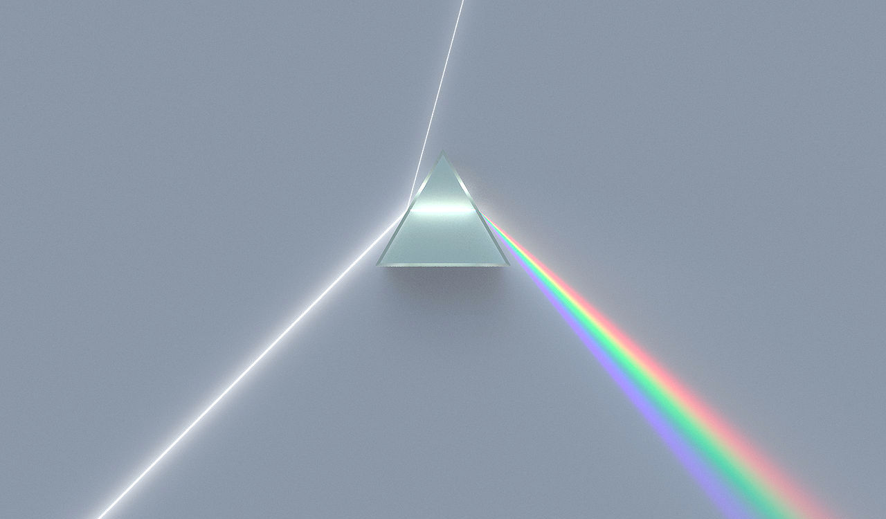 light and prism
