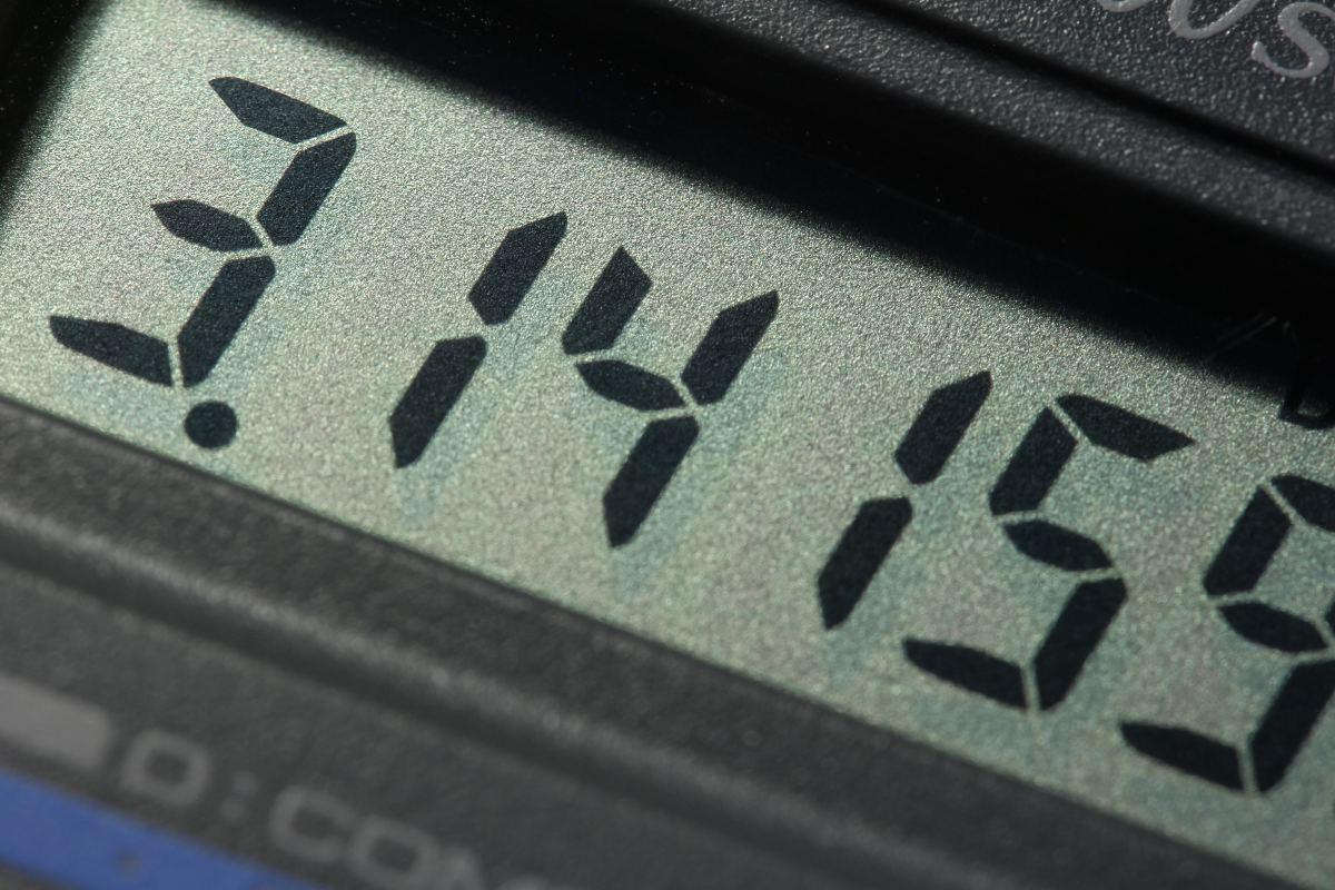 le nombre pi sur une calculatrice